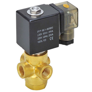 2 Way Normally Closed Solenoid Valve DC12V 1.5Mpa G3//8 Solid Brass Electric Solenoid Valve Pilot-Operated Air Water Steam Valve